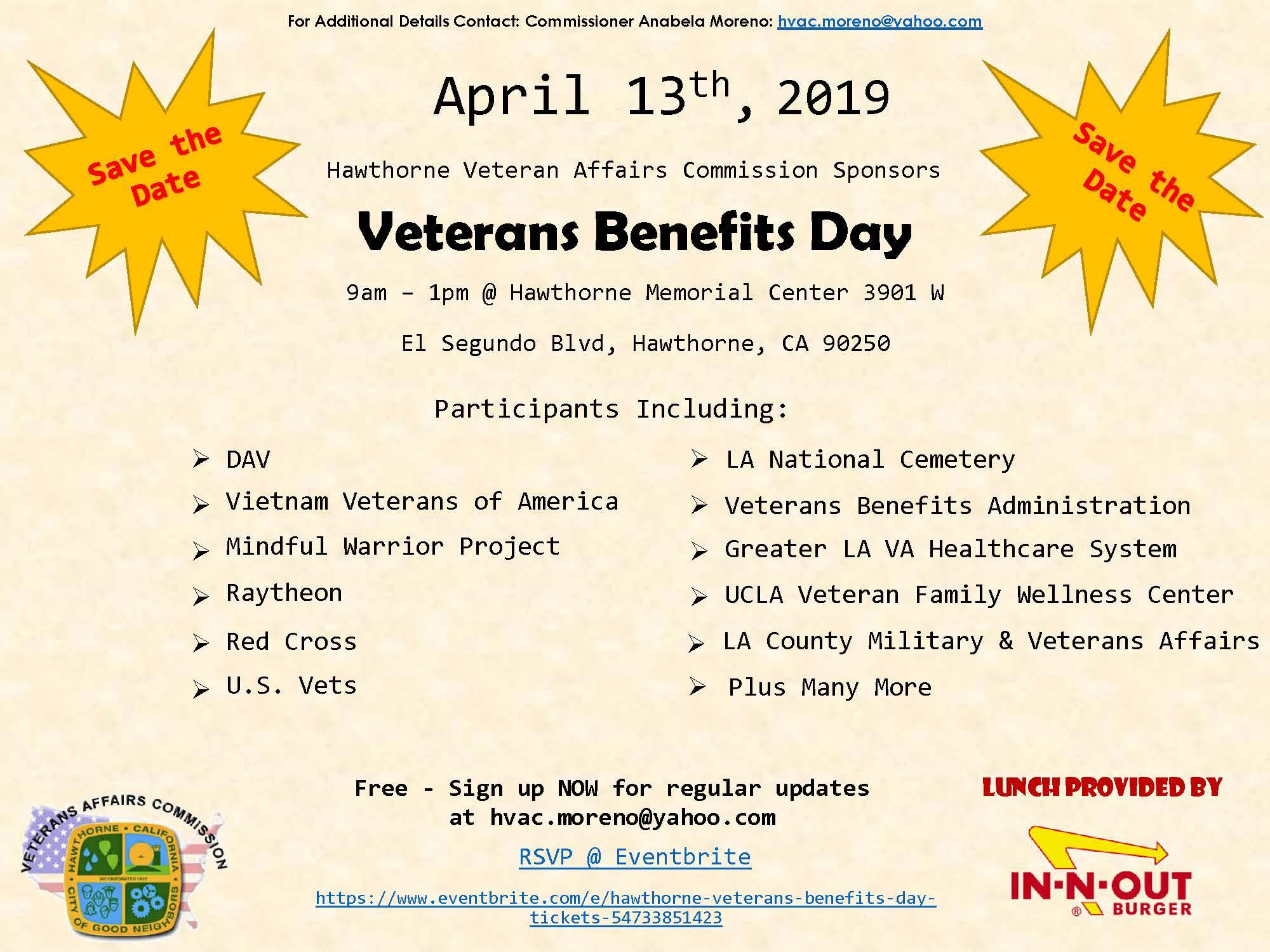 Veterans Benefits Day