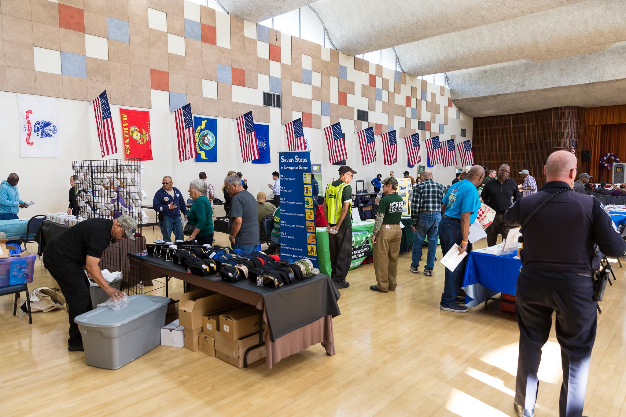 Exhibit hall