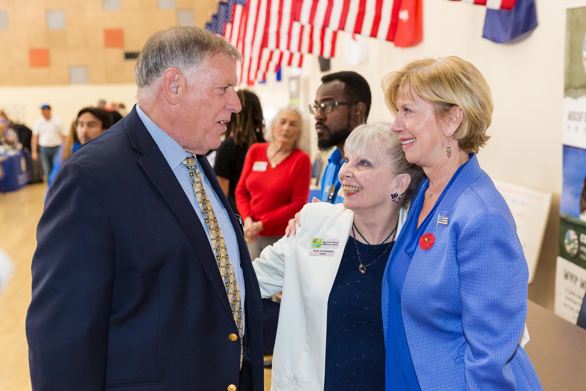 Neil Gafney and Supervisor 4th District Janice Hahn
