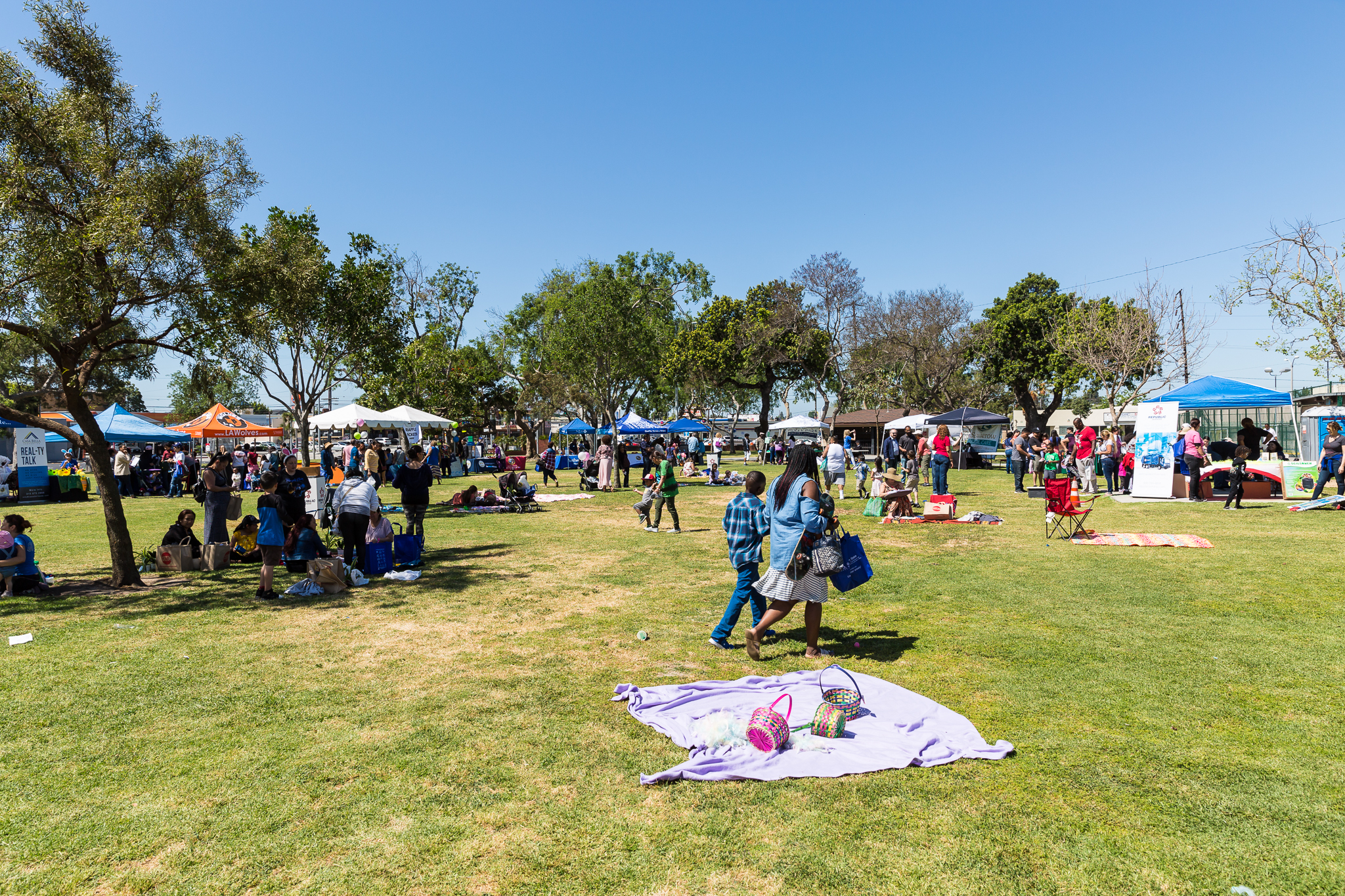 Earth Day Venue in the Park