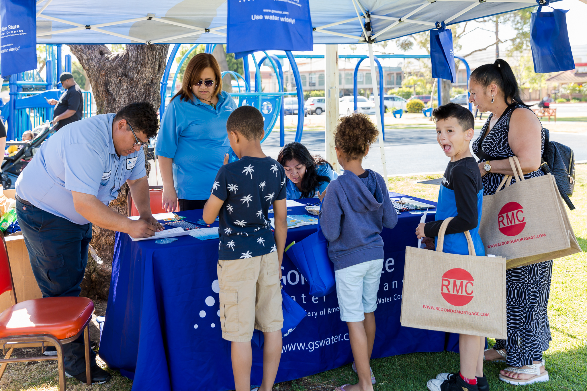 Golden State Water booth