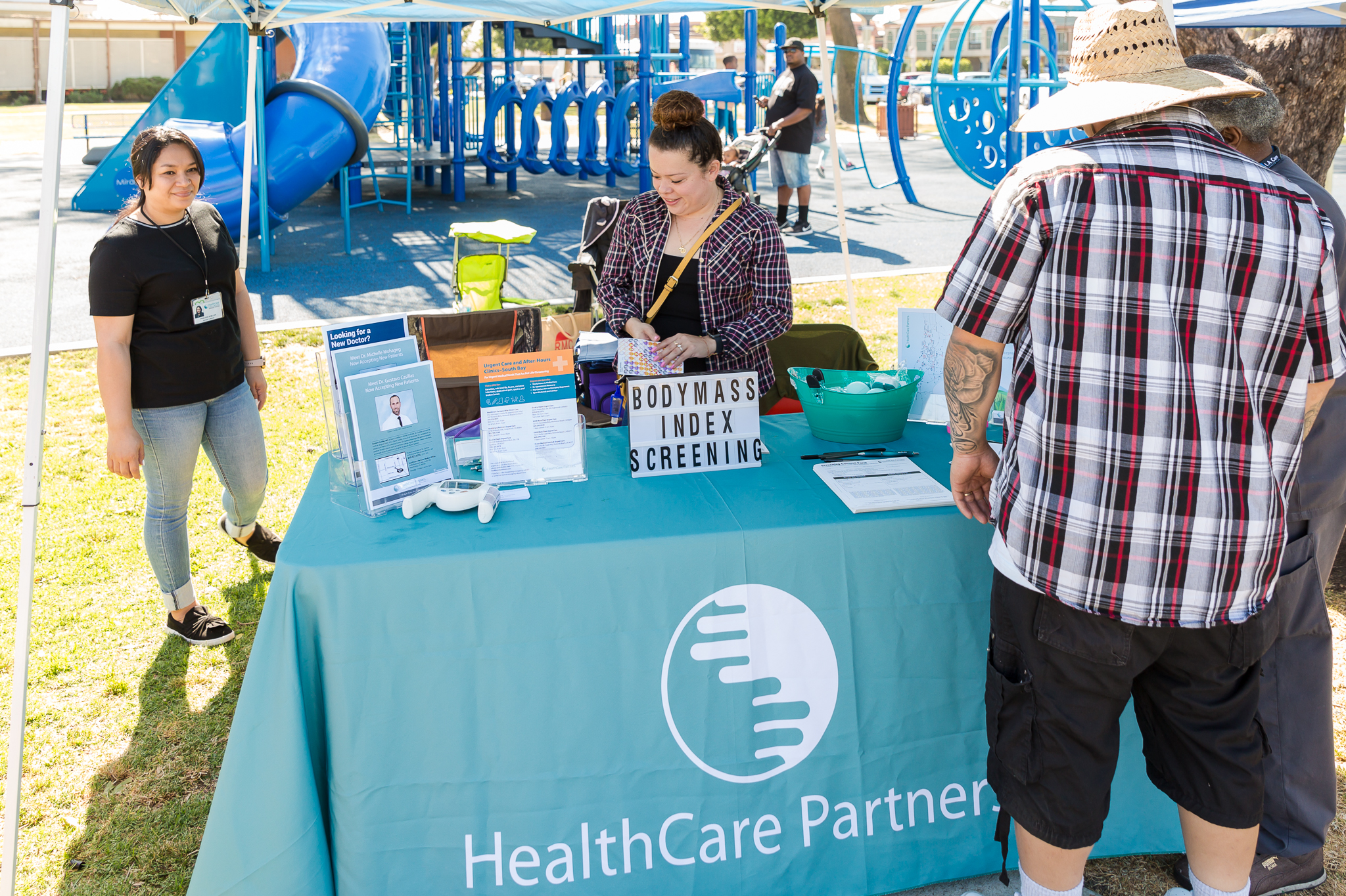 Health Care Partners booth