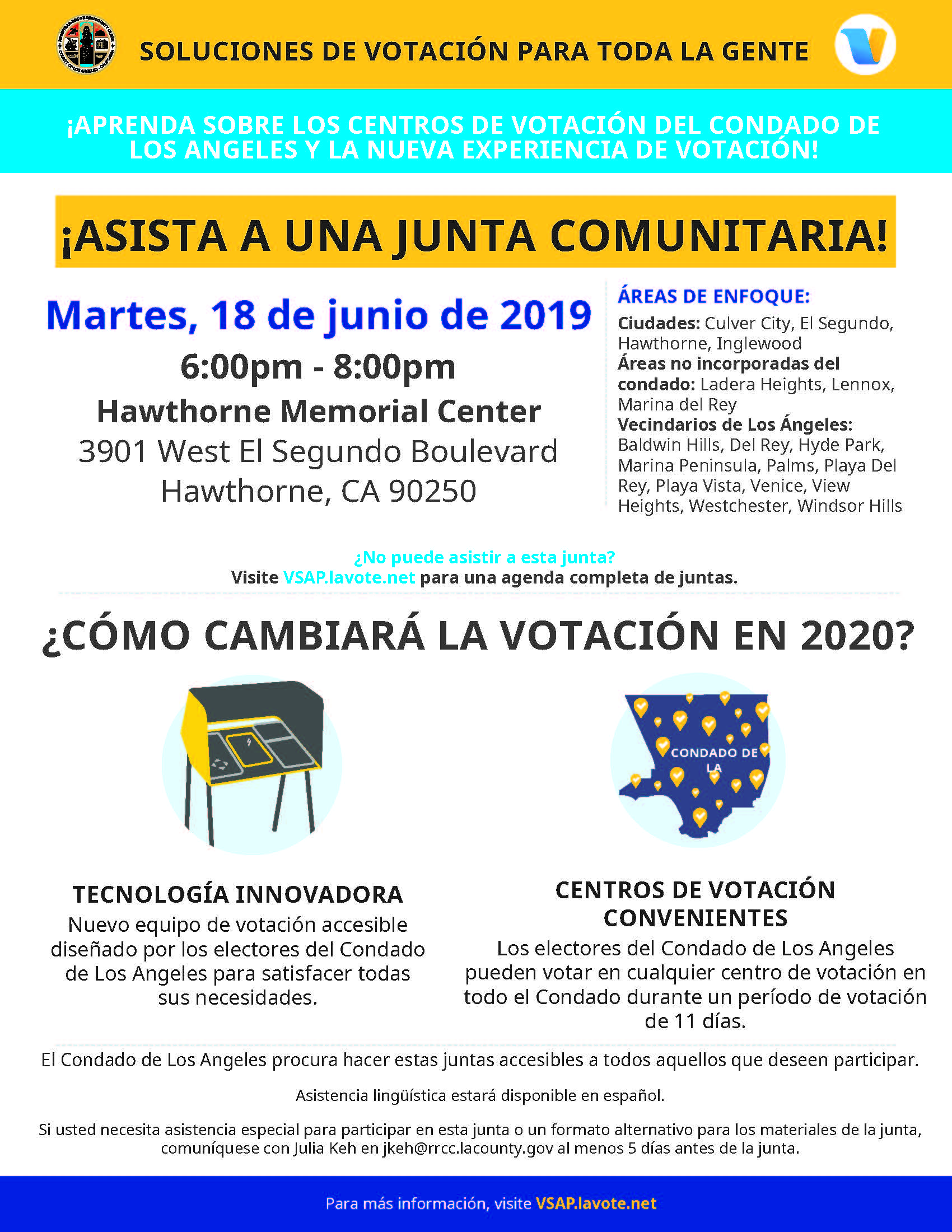 Voting Solutions for all People - Spanish