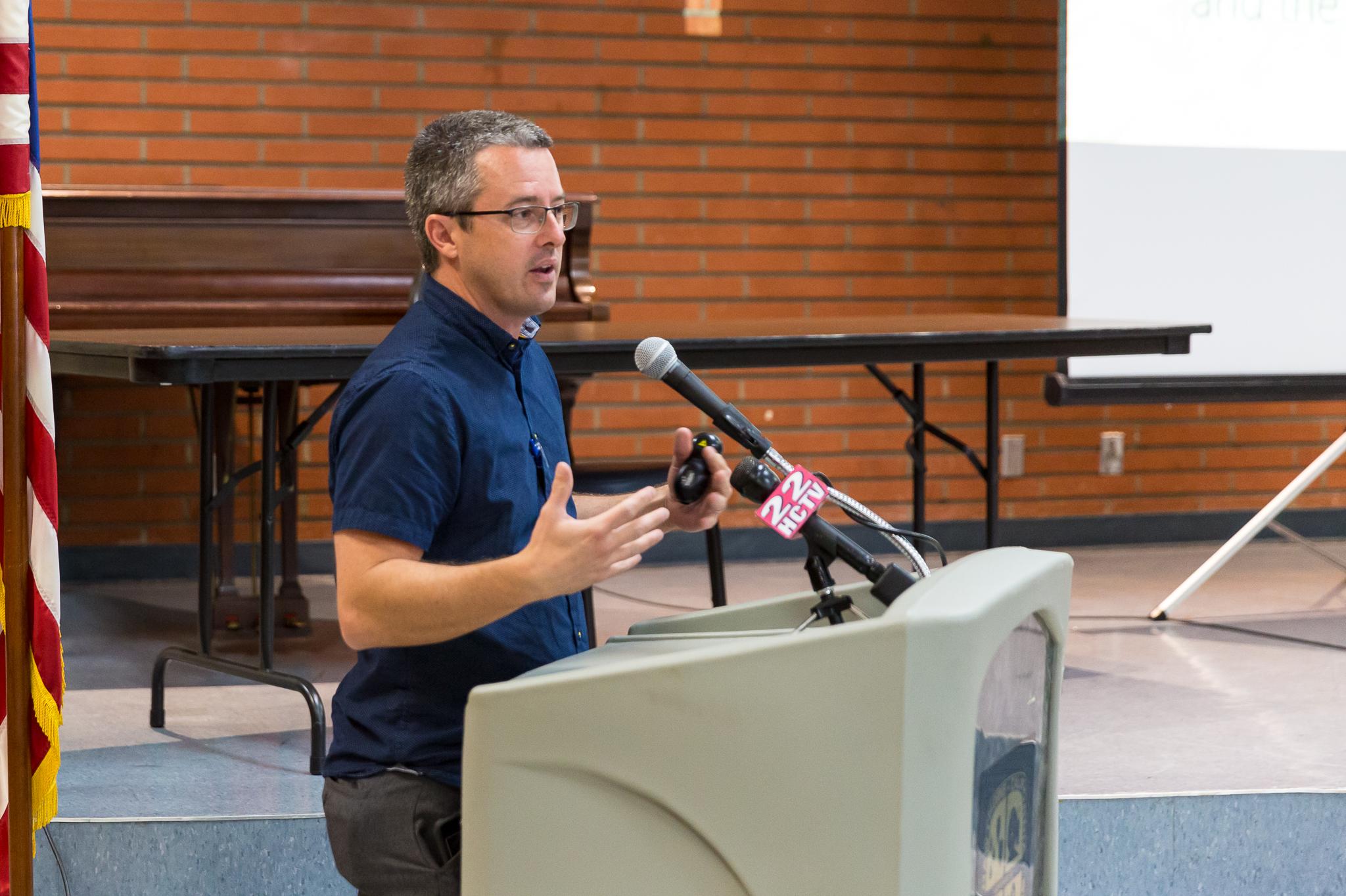 Public Works Environmental Anaylyst Doug Krauss