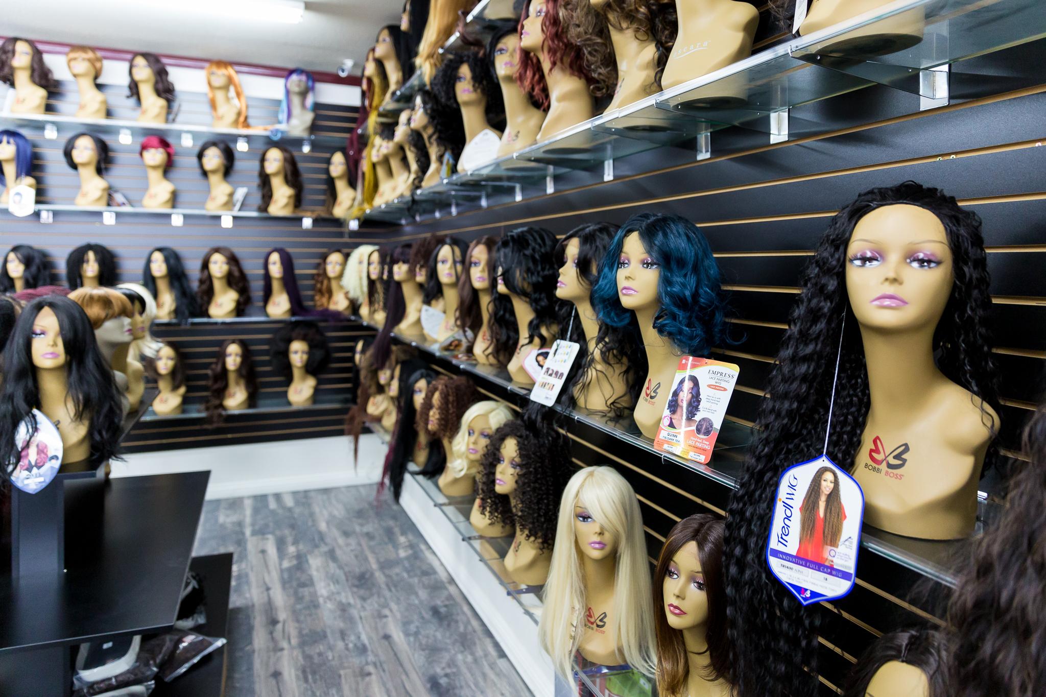 Store Merchandise - Wigs