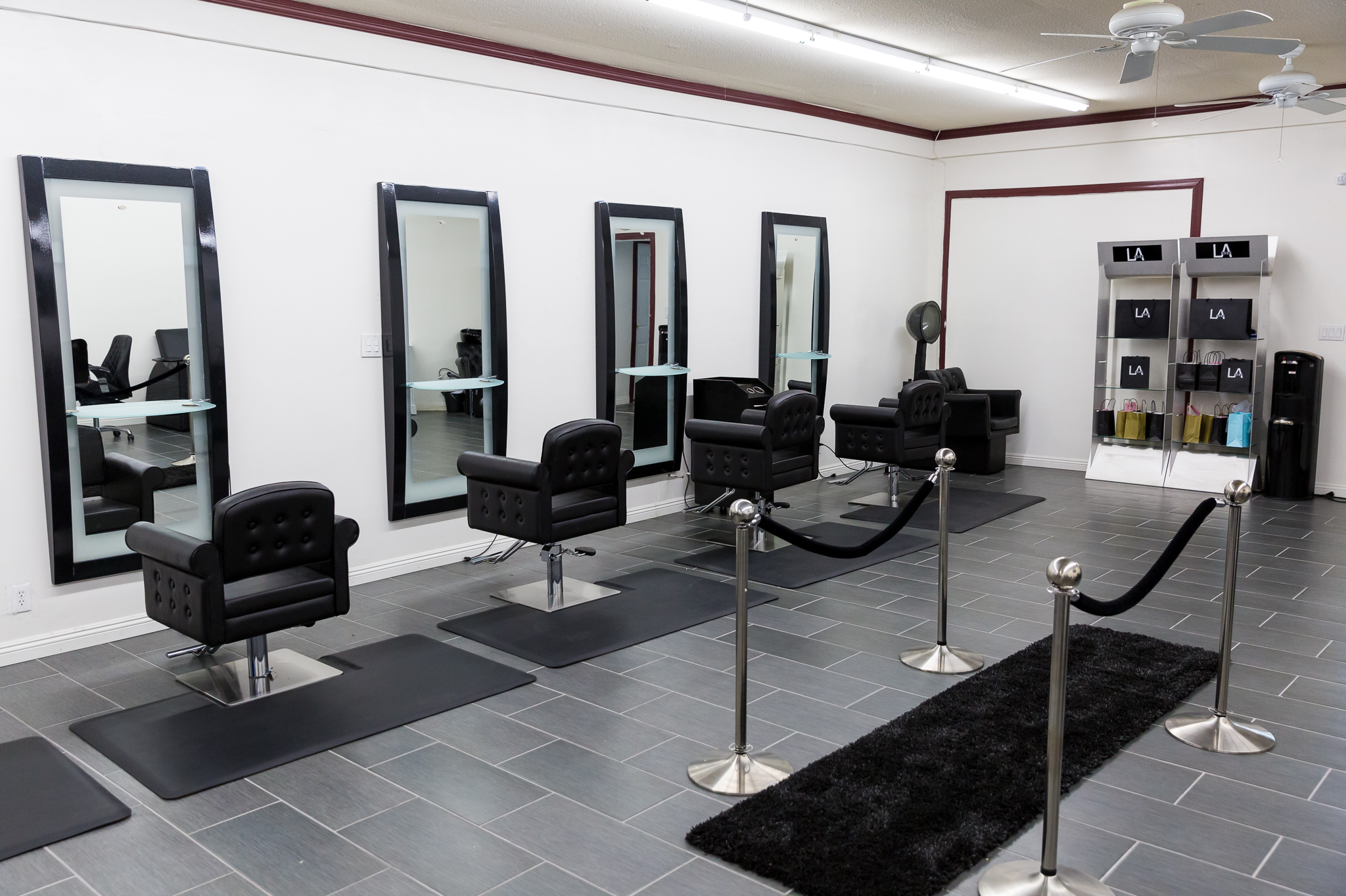 Hair Salon Chair Stations