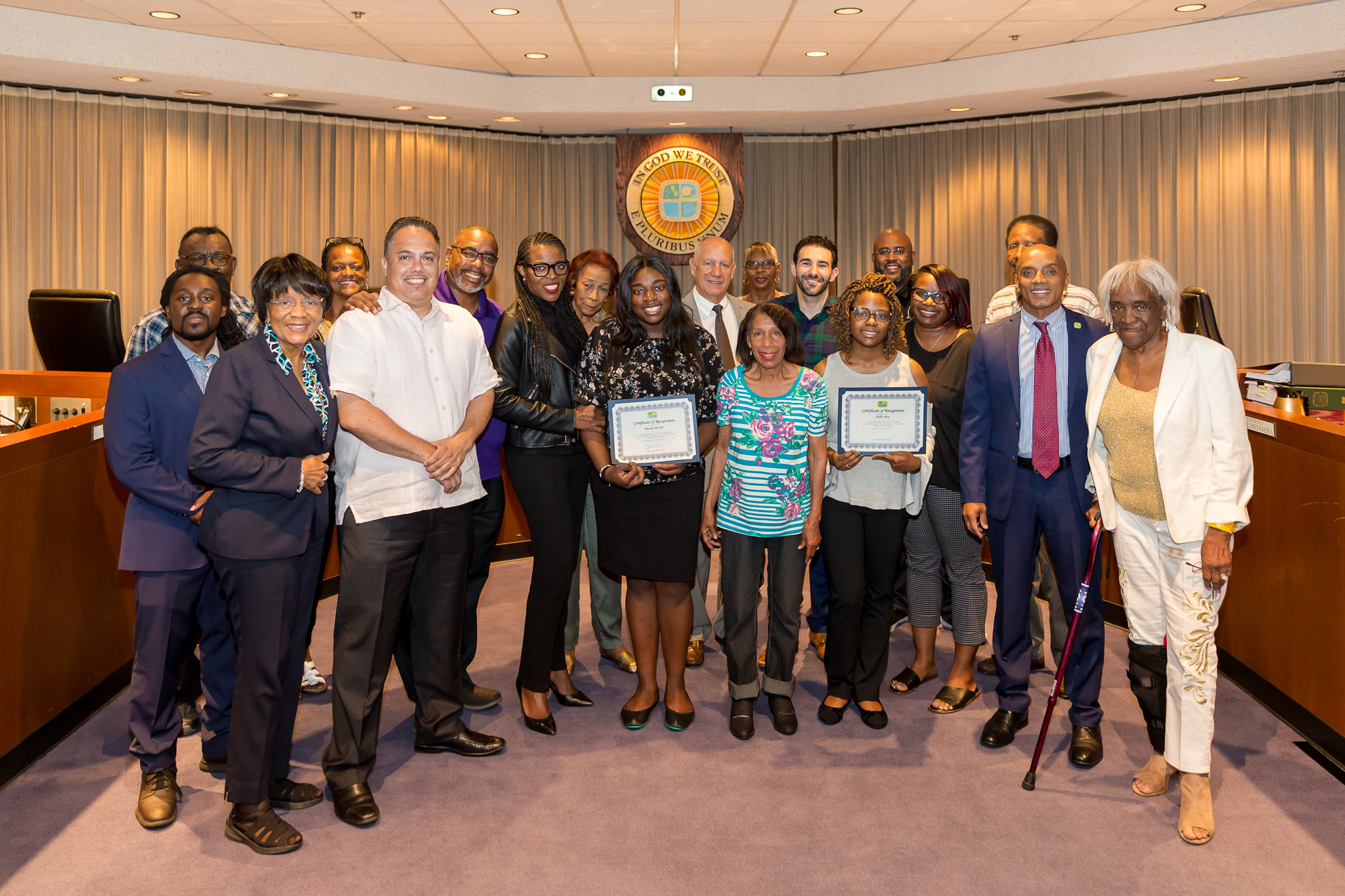 Hollypark Homeowners Association scholarship winners