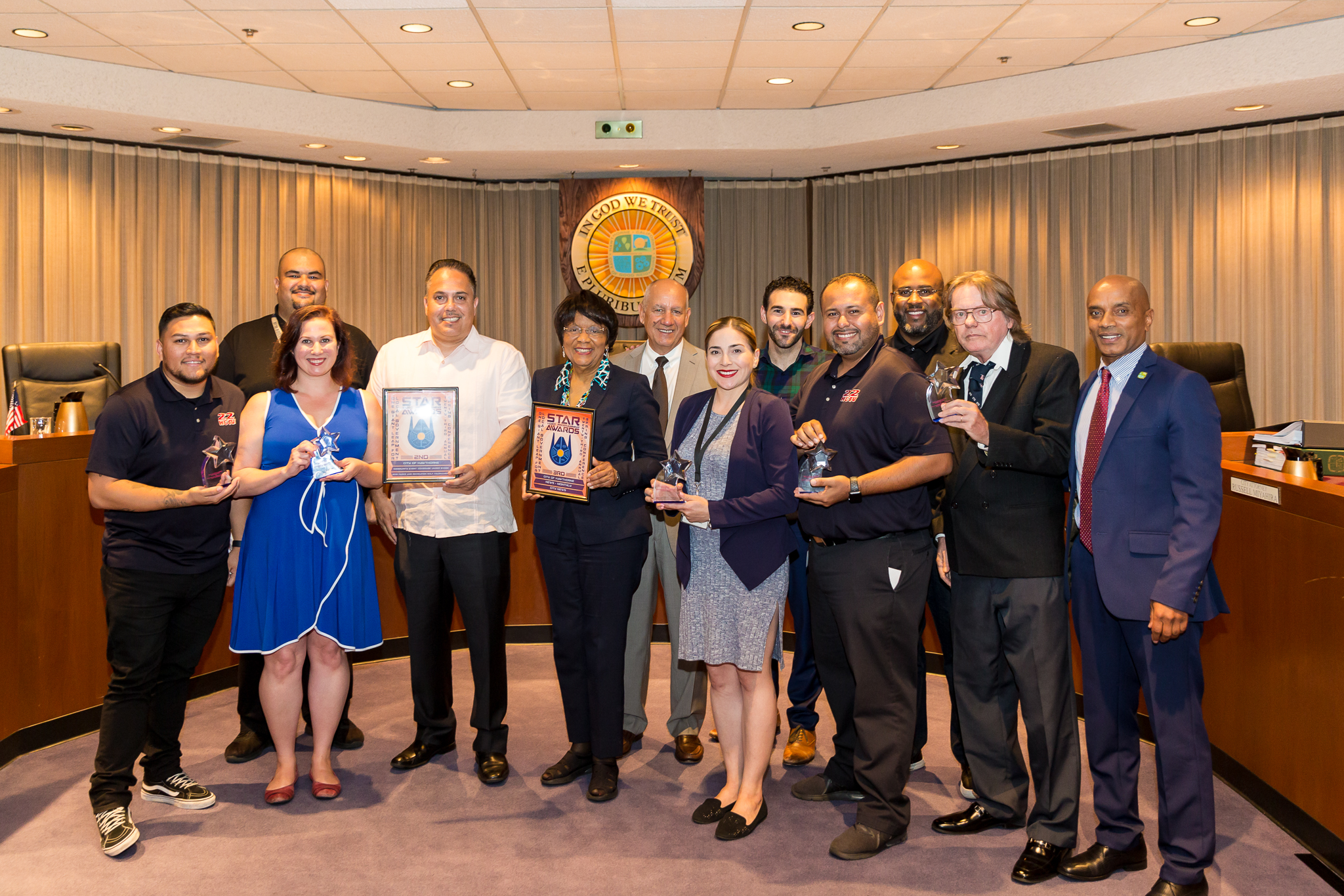 Hawthorne CableTV Staff and Council Members
