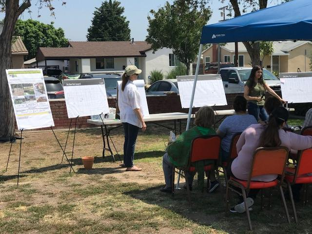 Community Meeting in the Park