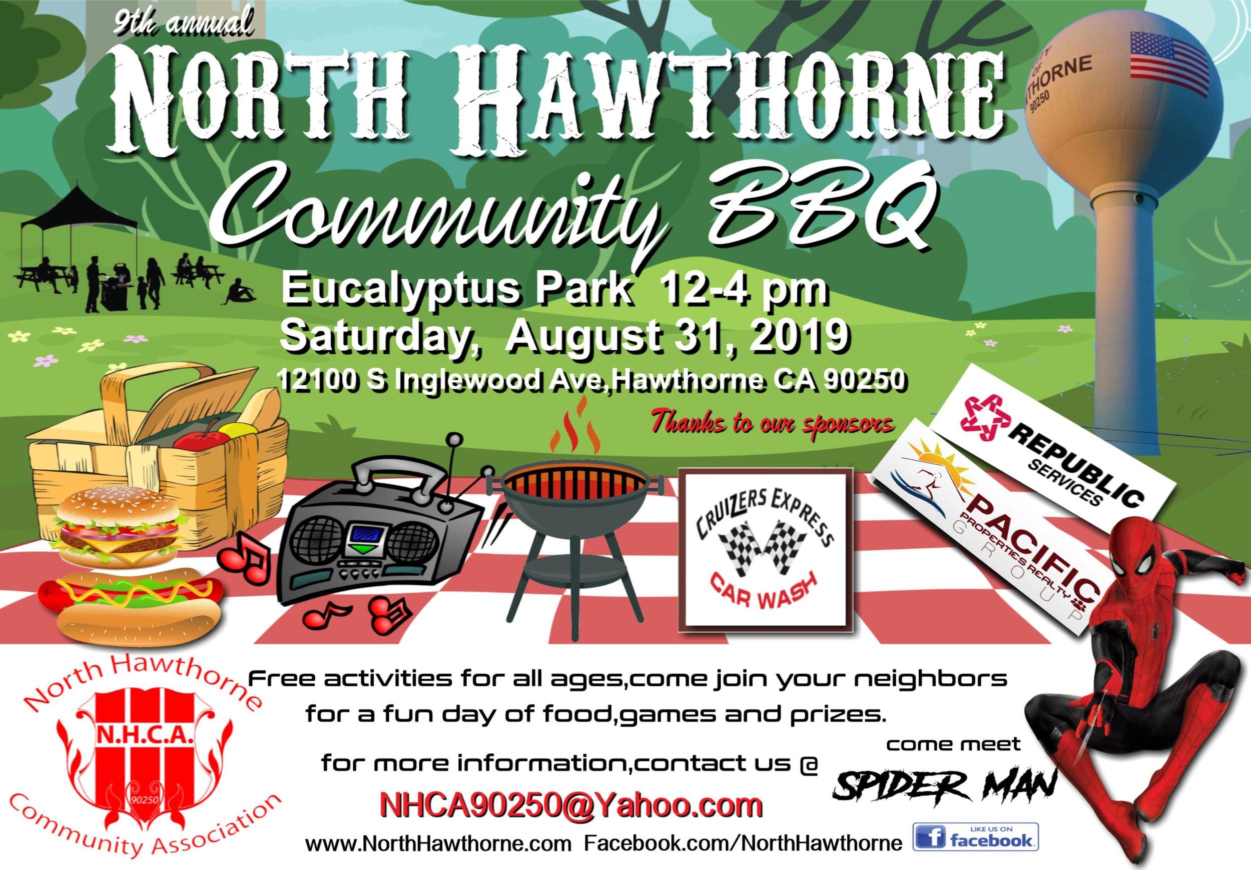 North Hawthorne Community BBQ - English