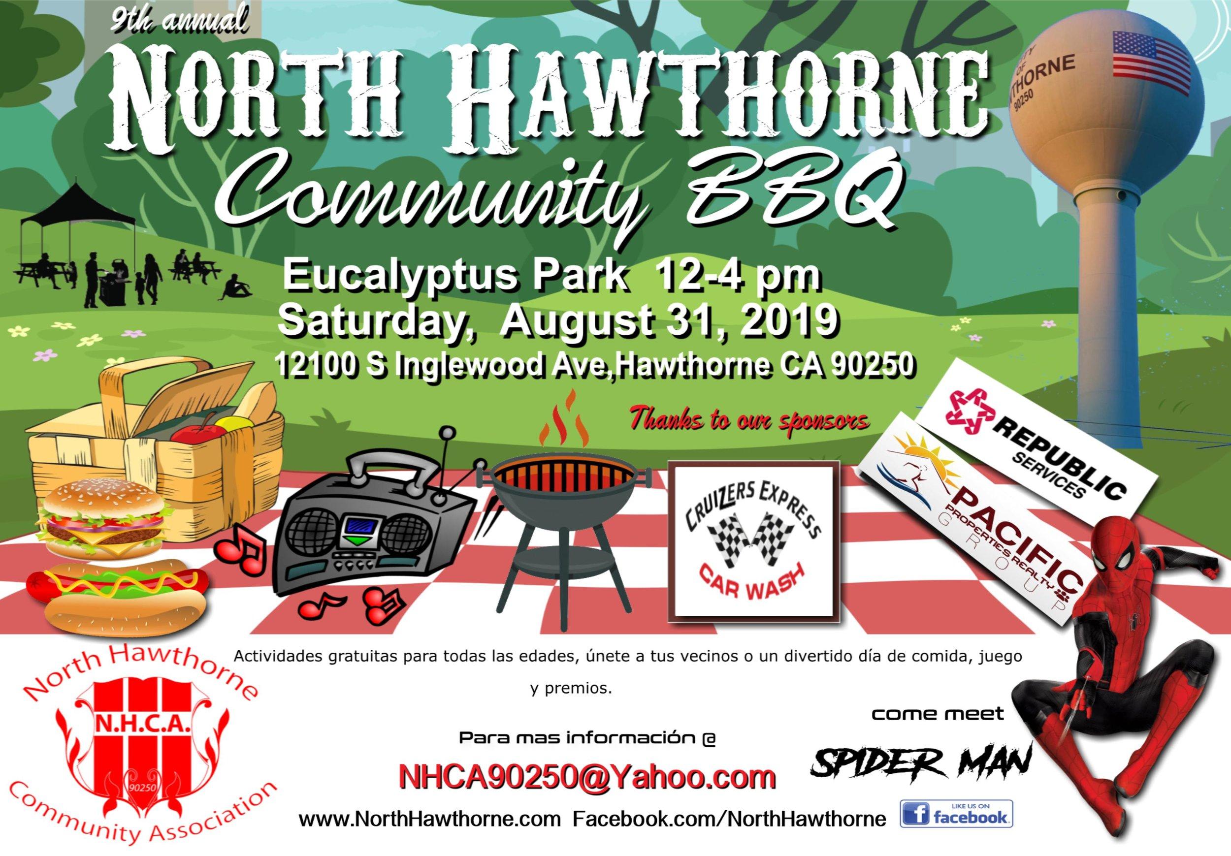 North Hawthorne Community BBQ - Spanish