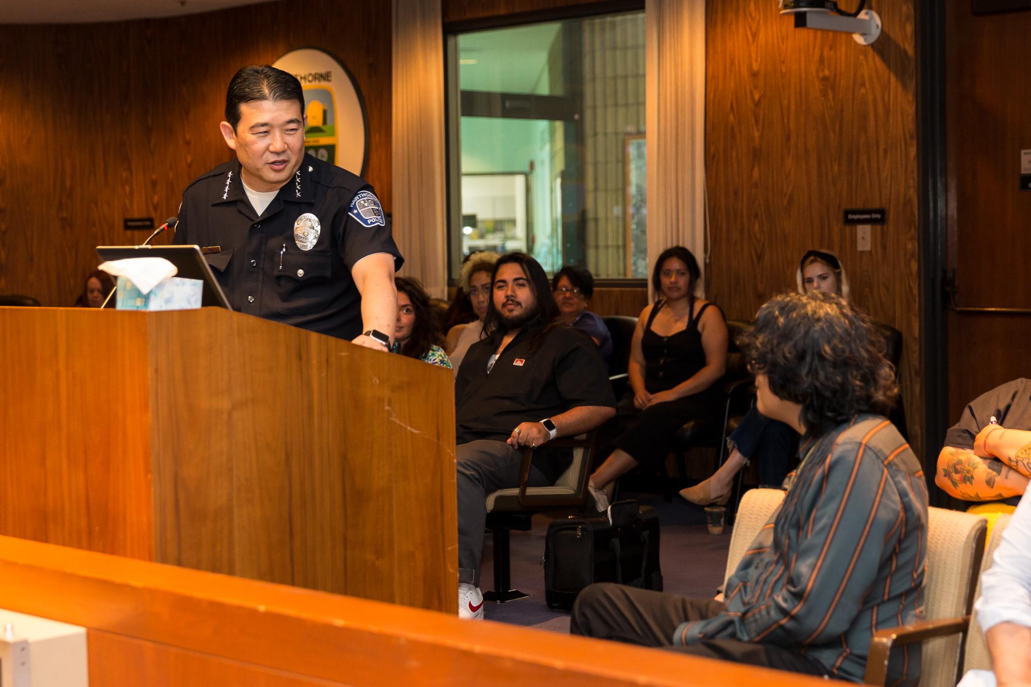Police Chief Mike Ishii