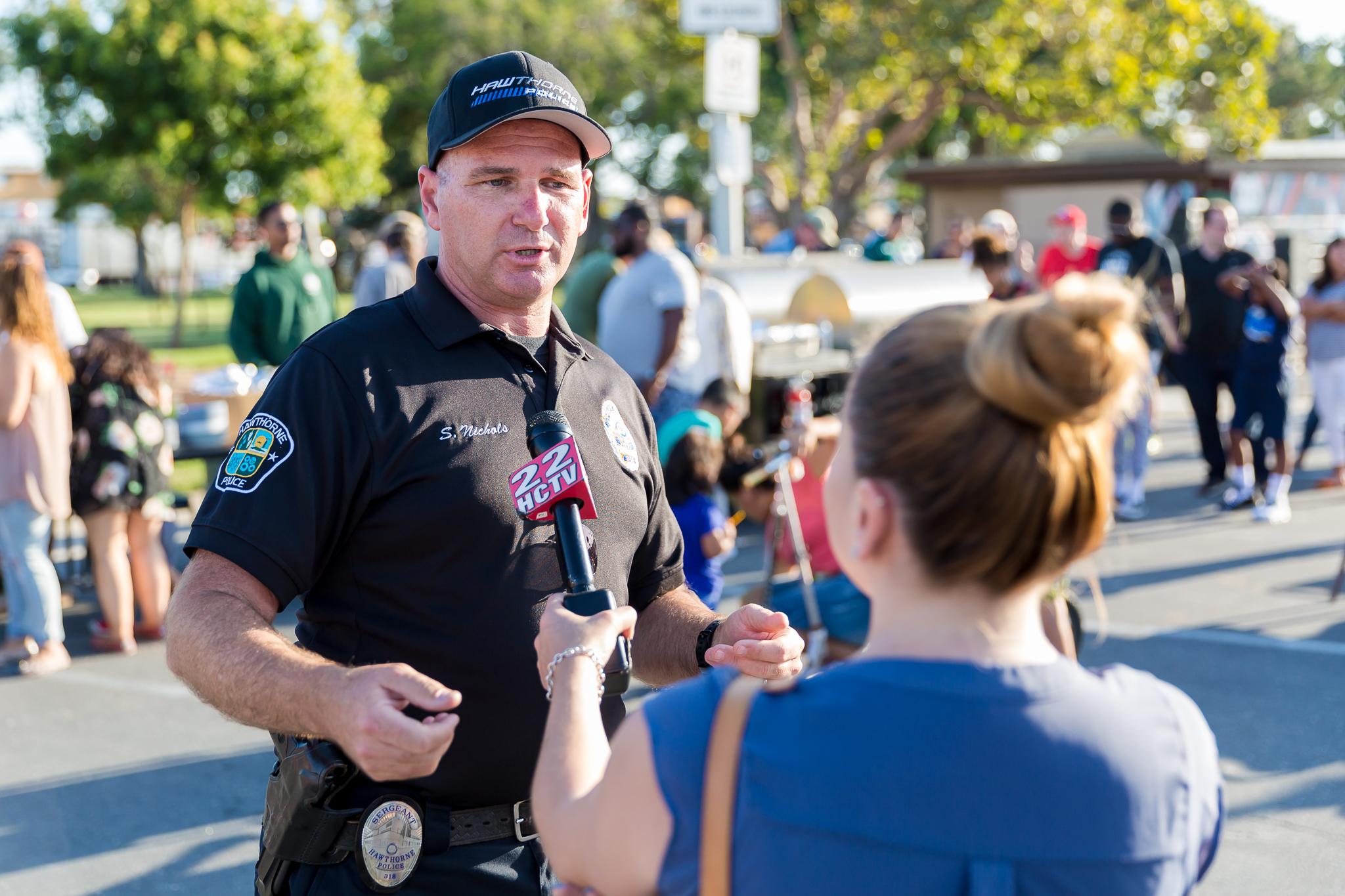 Interview with Officer Scott Nichols