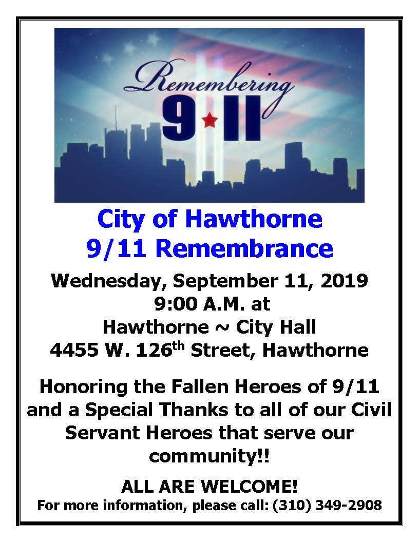 9//11 Remembrance Ceremony
