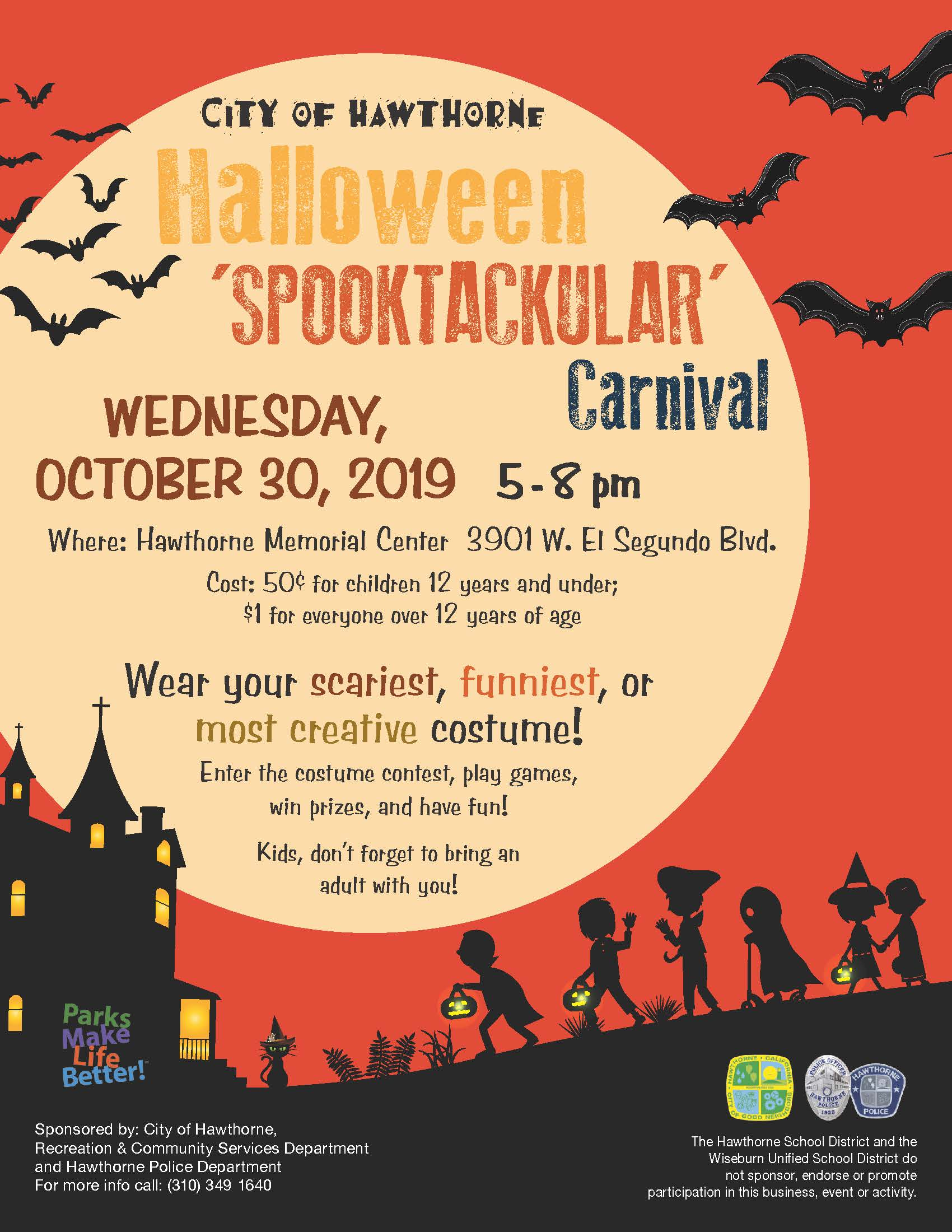 Halloween 'Spooktackular' Carnival