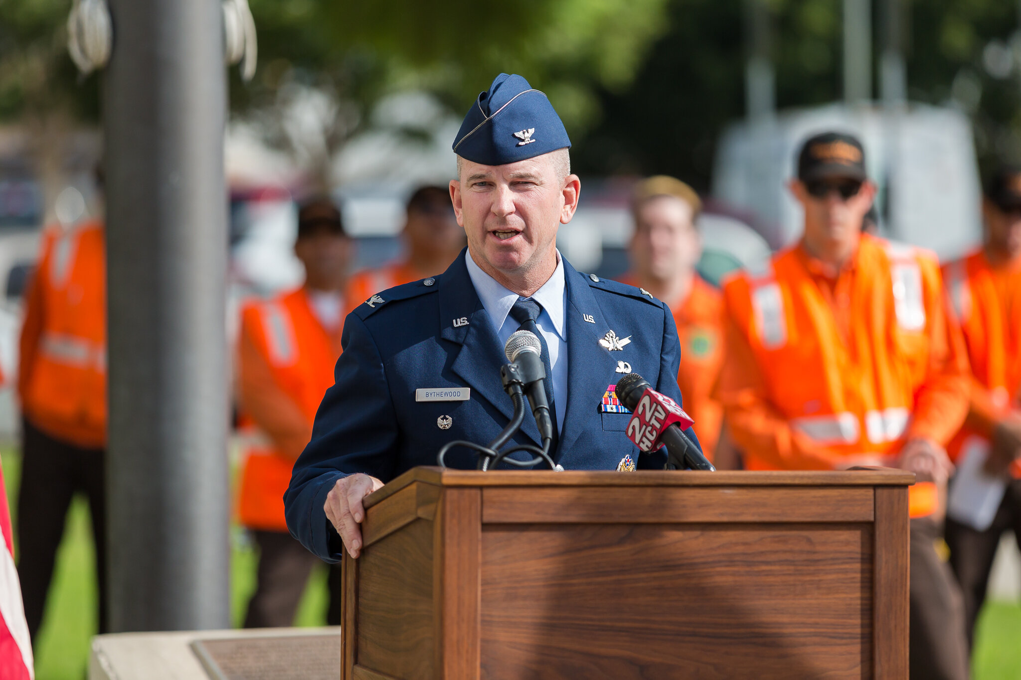Airforce guest speaker Bythewood