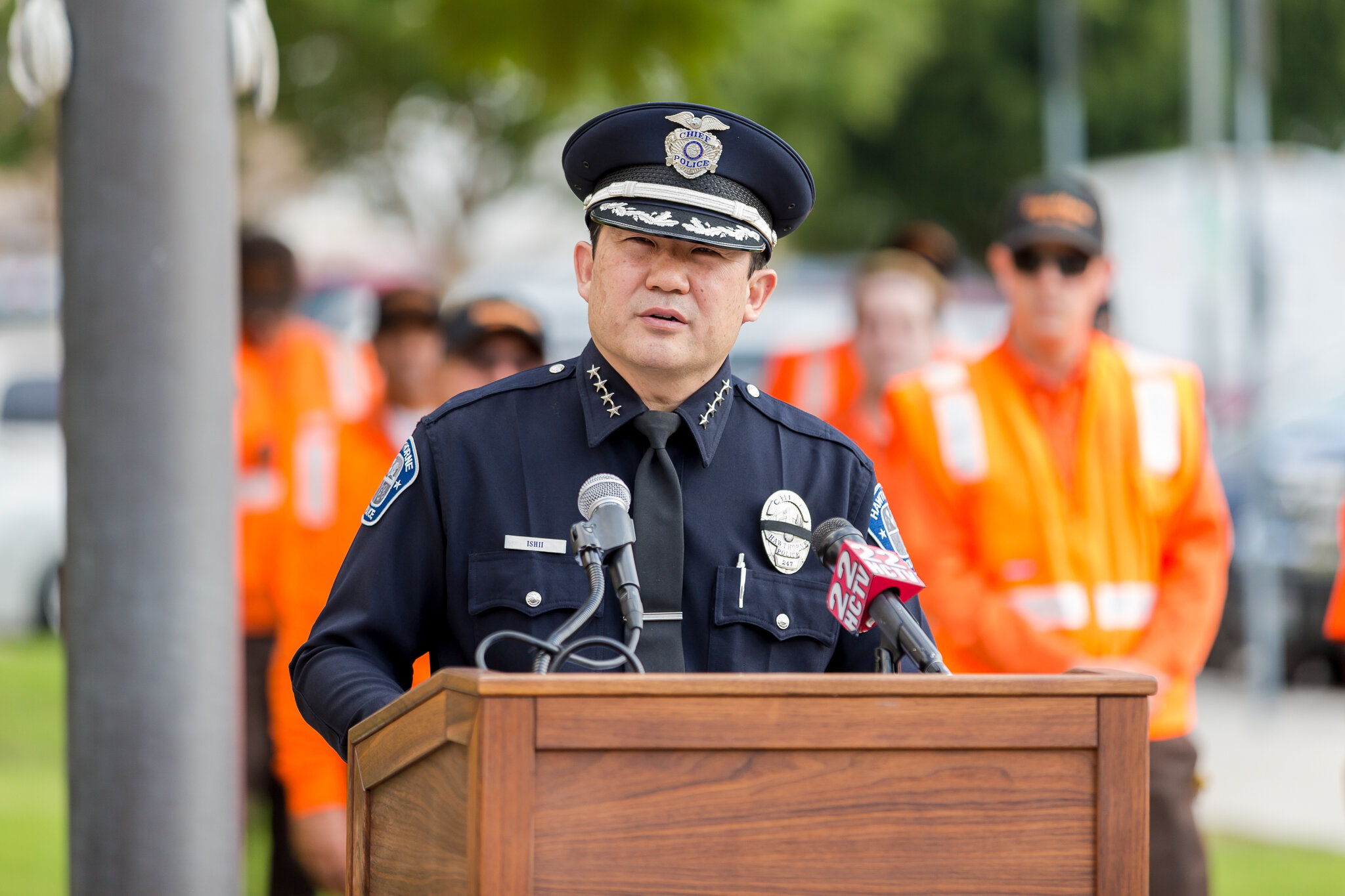 Police Chief Mike Ishii