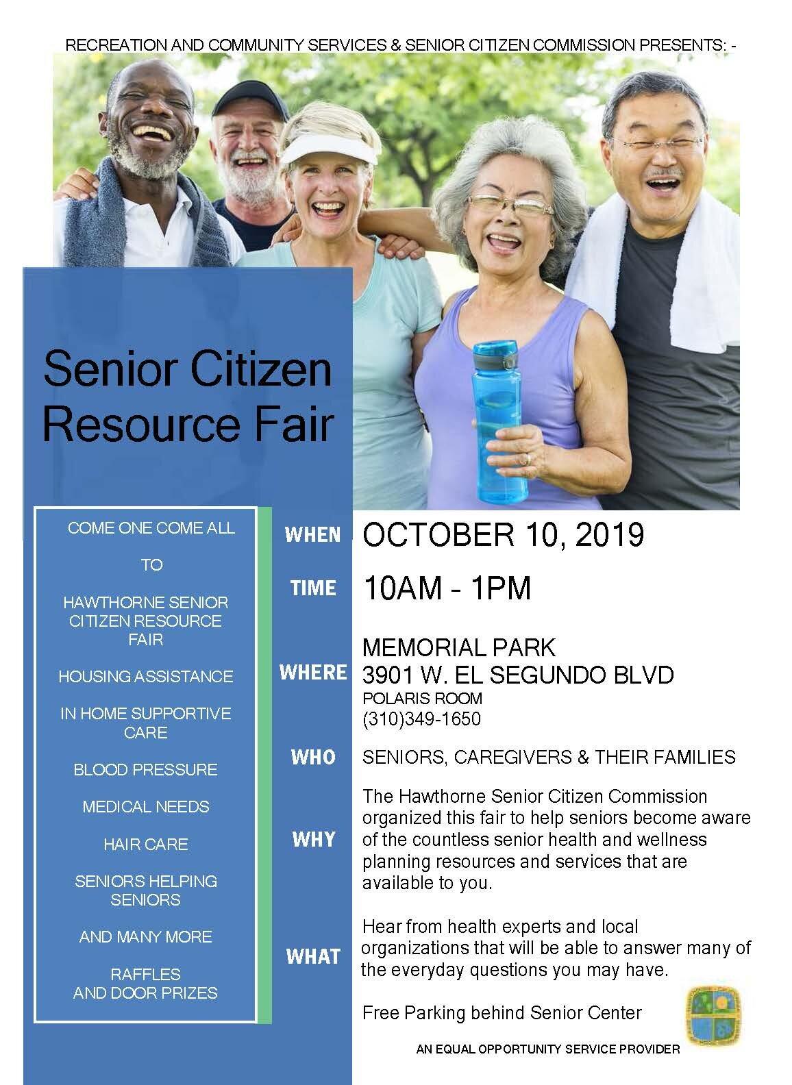 Senior Citizen Resource Fair