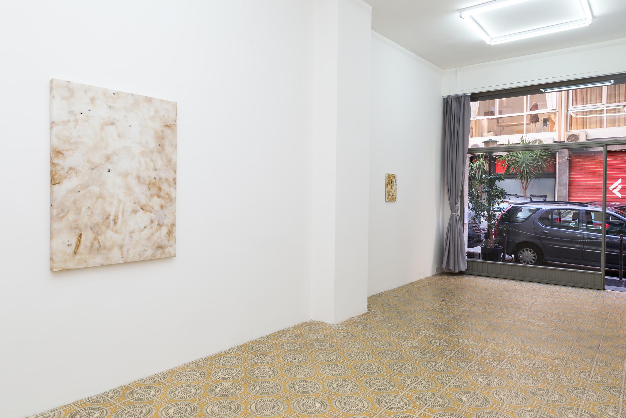 Installation shot for Domenica at Galleria Acappella. Naples, Italy