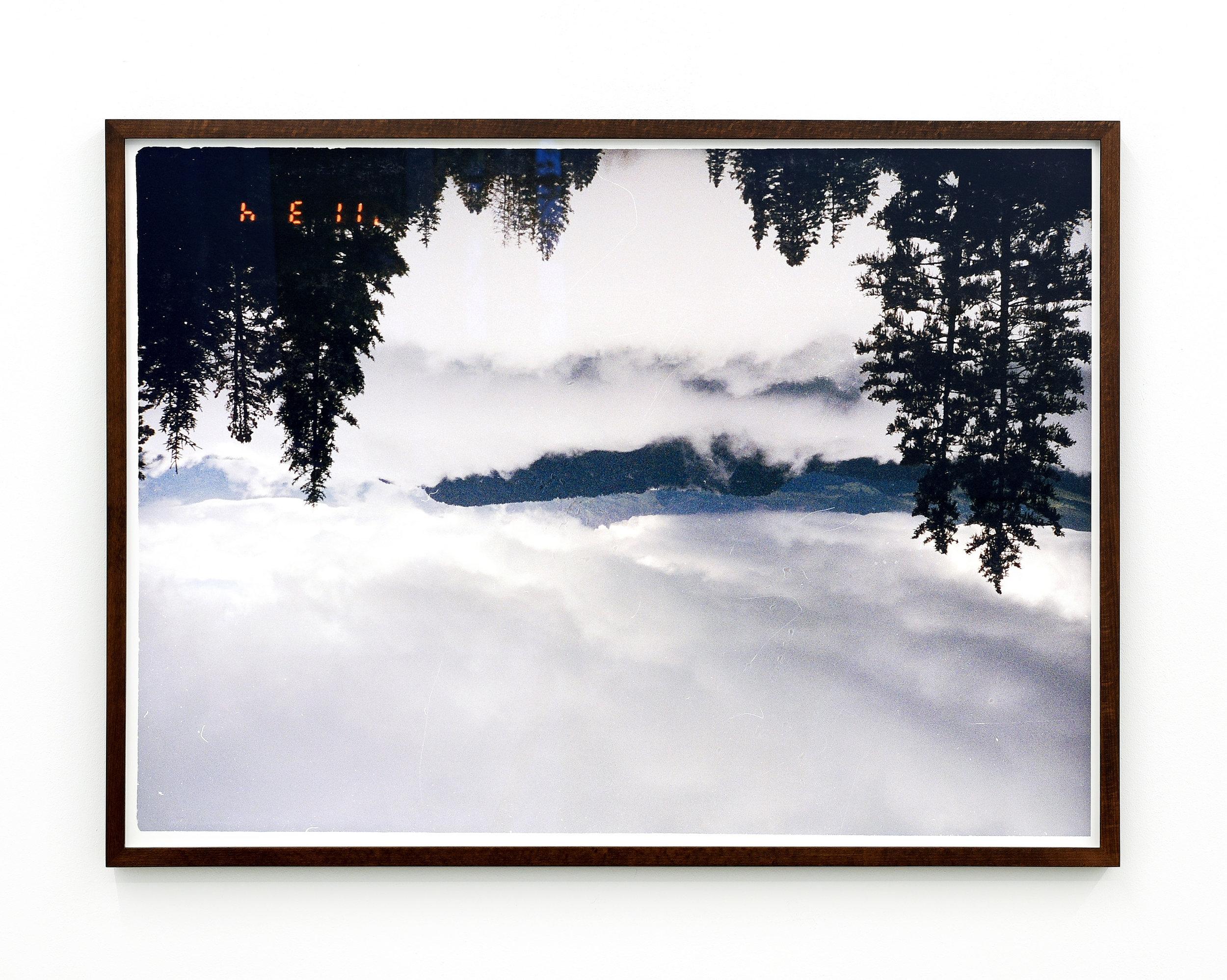 h E ll   2015  C-Print in Artist Frame  30 x 24 inches