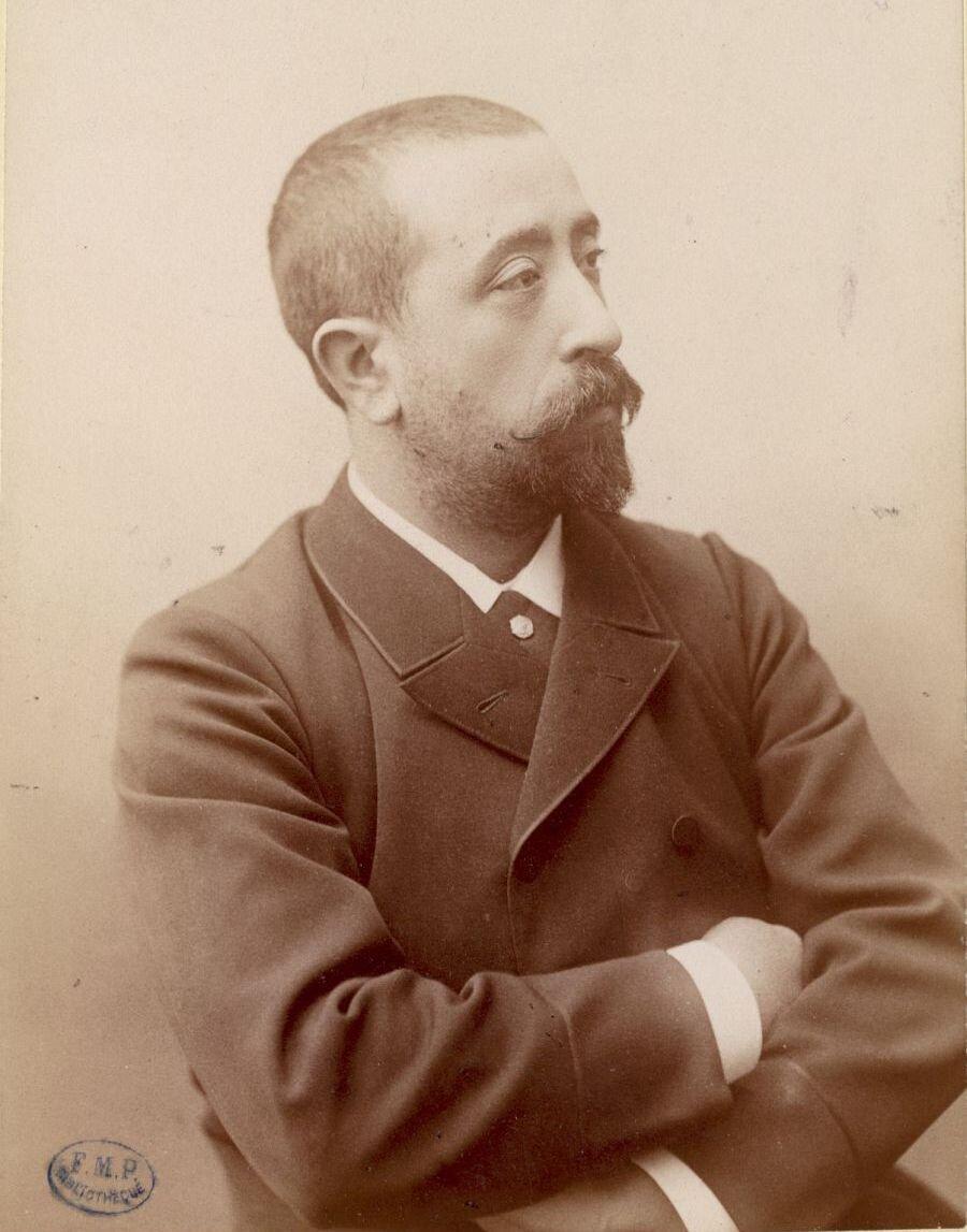Georges Gilles de la Tourette, circa 1870
