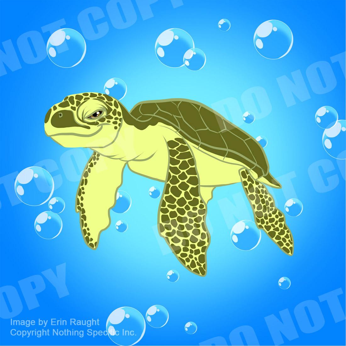 7459 - Sea Turtle - Ocean Cute.jpg