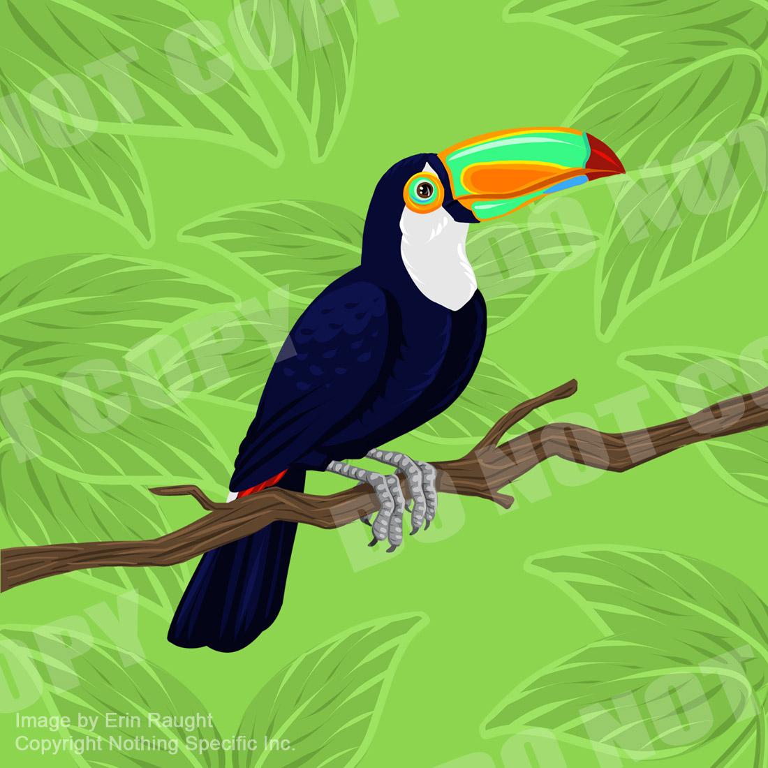 7463 - Toucan - Jungle Parrot Bird Tropical.jpg