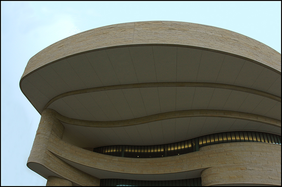 Facade closeup, National Museum of the American Indian