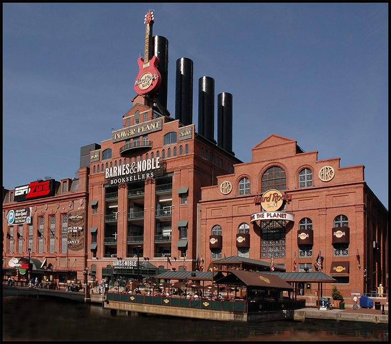Power Plant at the Inner Harbor, Baltimore, MD