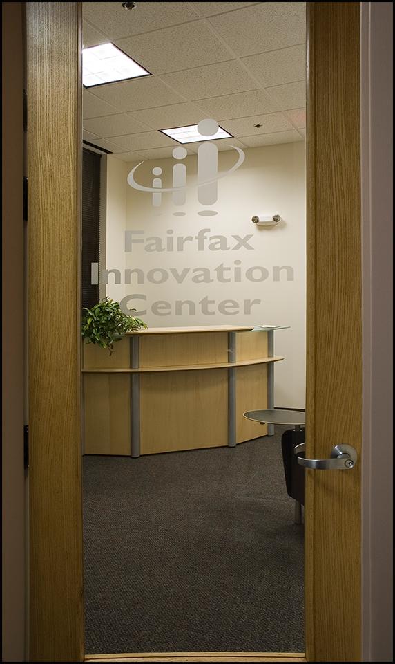 Office entrance, Fairfax Innovation Center for Small Business Development
