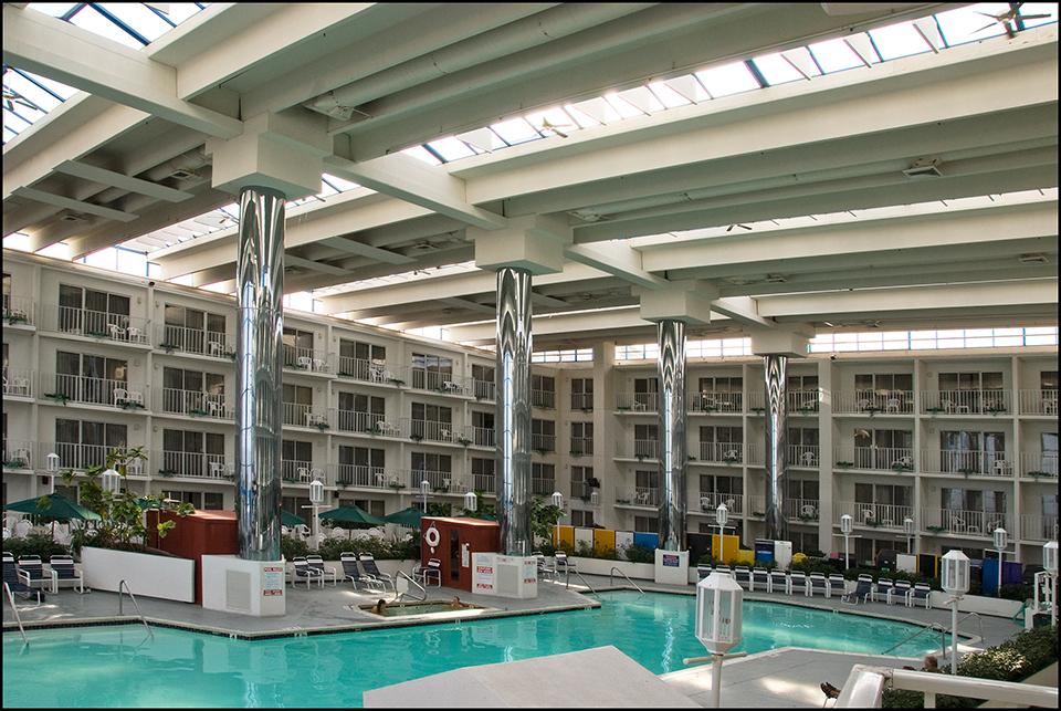 Swimming pool, Princess Royale Hotel, Ocean City, MD
