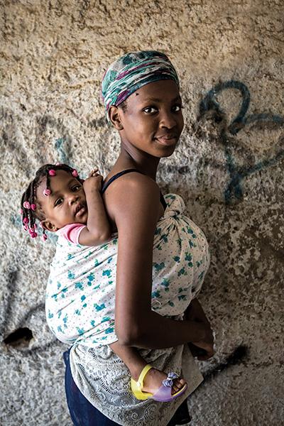 Angolan Mother