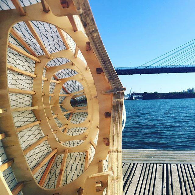 Different perspective #woodenboat #kayak #sydney #escapism