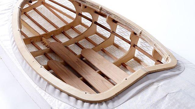 Our original prototype #kayaks #skinonframe #timberkayaks #fuselagekayak