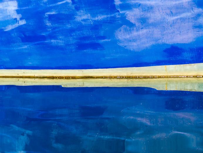 Unfinished Surface 1, Long Bay, Middle Harbour, Sydney, Australia, 2015