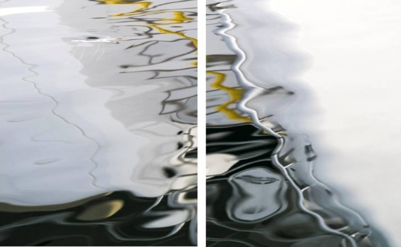 The Core of Yellow Diptych