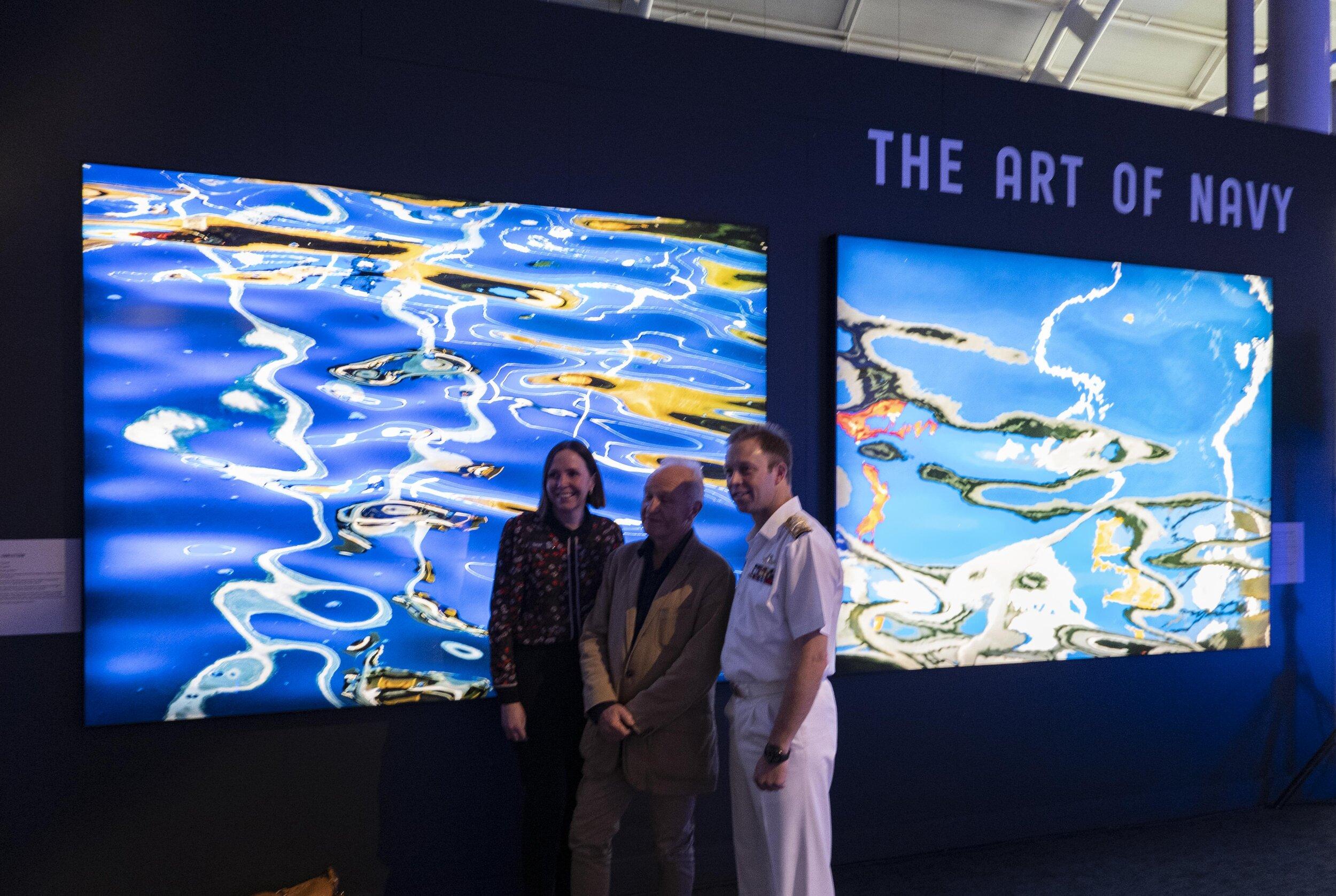 Tanya Bush, Deputy Director, ANMM and Vice Admiral Michael Noonan AO