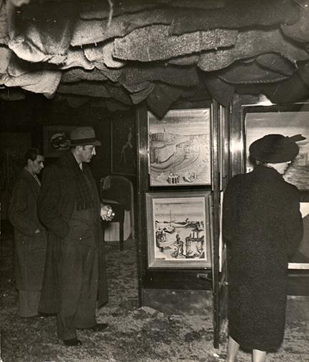 Exposition International du Surréalisme, Parigi 1938 - Marcel Duchamp