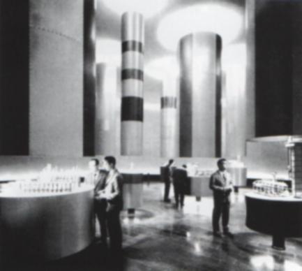 Padiglione Montecatini, Fiera Milano 1961 - Giò Ponti e Costantino Corsini