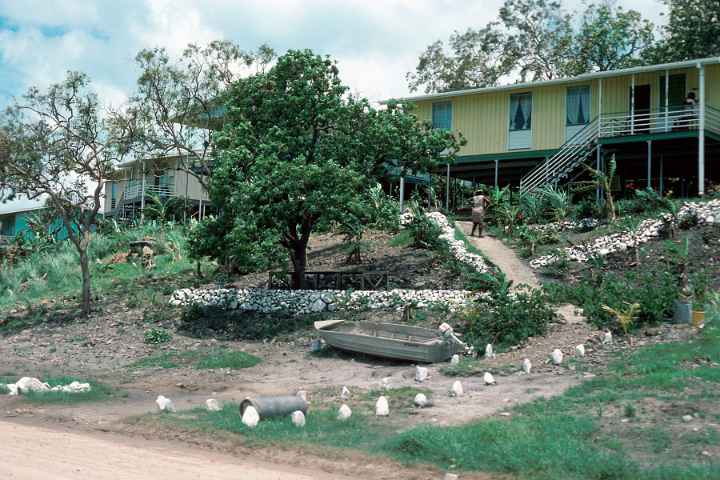 Houses at Rosehill, Thursday Island, Queensland