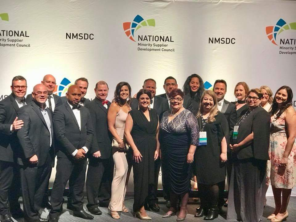 2017 Supply Nation delegation - NMSDC, Detroit, Michigan. Bala's Jamie and Te Aroha are the only delegates missing from this photograph.