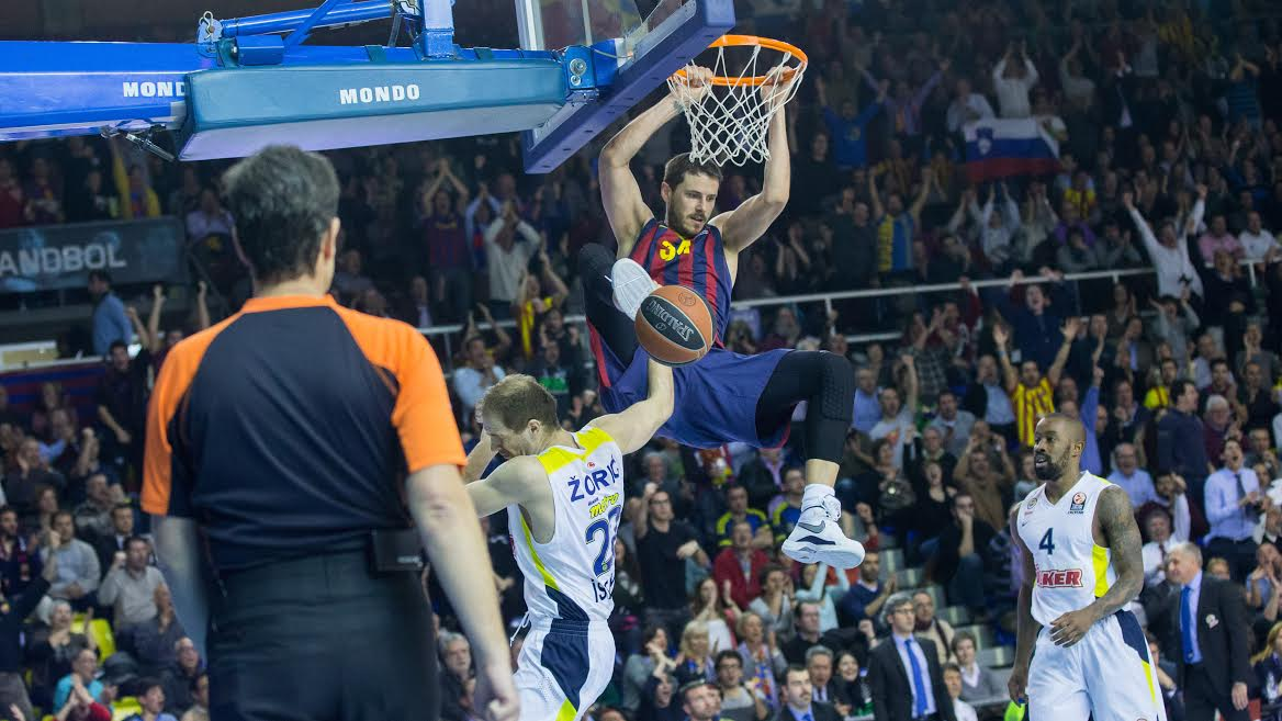 Good team defense and uptempo play helped Boki and Barcelona seal the win against Unicaja Malaga.