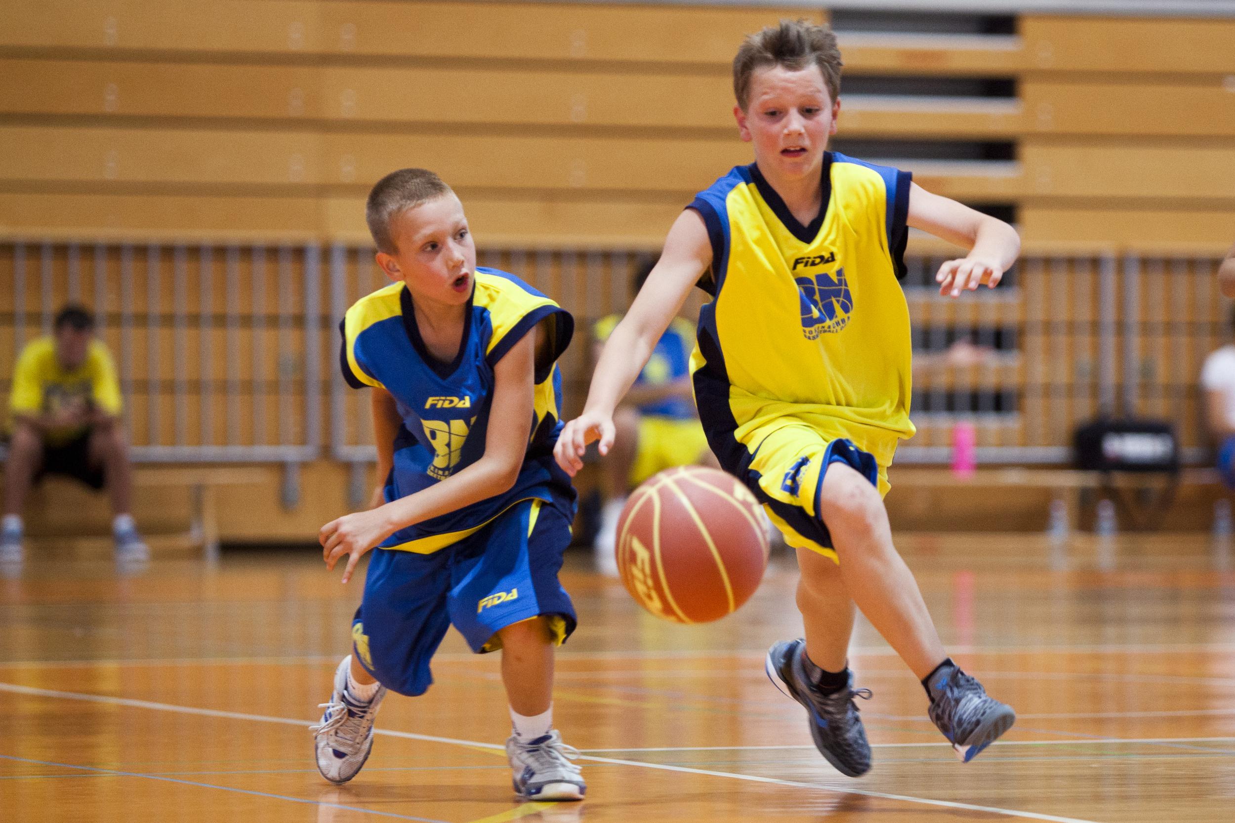 Tudi letos bo na Bokijevem Basketball Campu veliko fantov in deklet.