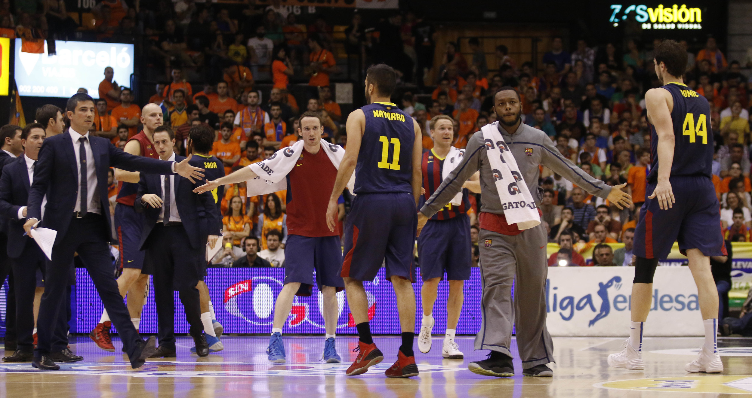 FC Barcelona needs 1 more win to advance to Spanish ACB finals.