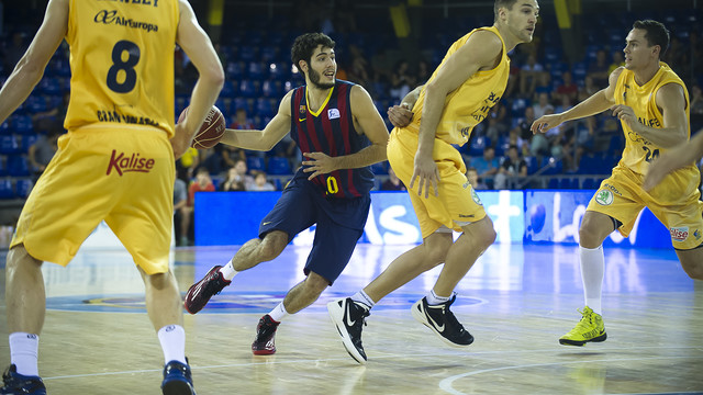Abrines was 5 for 5 from behind the 3 point line.