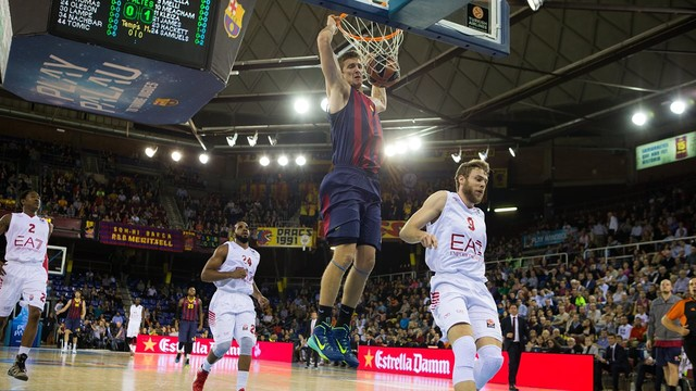 Barcelona had 15 turnovers, but managed to win the game.
