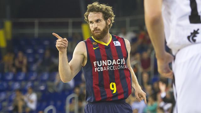 Huertas scored 9 points against Bilbao.