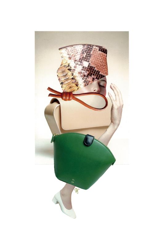 RUIGROK V/D WERVEN 'Sample Sale Collab' - Speciaal voor -en in samenwerking met het Nederlandse design tassenlabel RUIGROK VAN DER WERVEN ontwierp ik een tweetal collages uitstuitend met campagnebeelden van R v/d W zelf. De collages zijn gebruikt voor de flyers ter aankondiging van de pop-up Sample Sale in Amsterdam. Daarnaast maakte je kans om één van de twee originele collages te winnen bij aankoop van een tas tijdens de pop-up sample sale in Amsterdam. Beide werken waren daar ook als Art Print in limited oplage van 10 stuks (per stuk) te koop. ruigrokvanderwerven.com