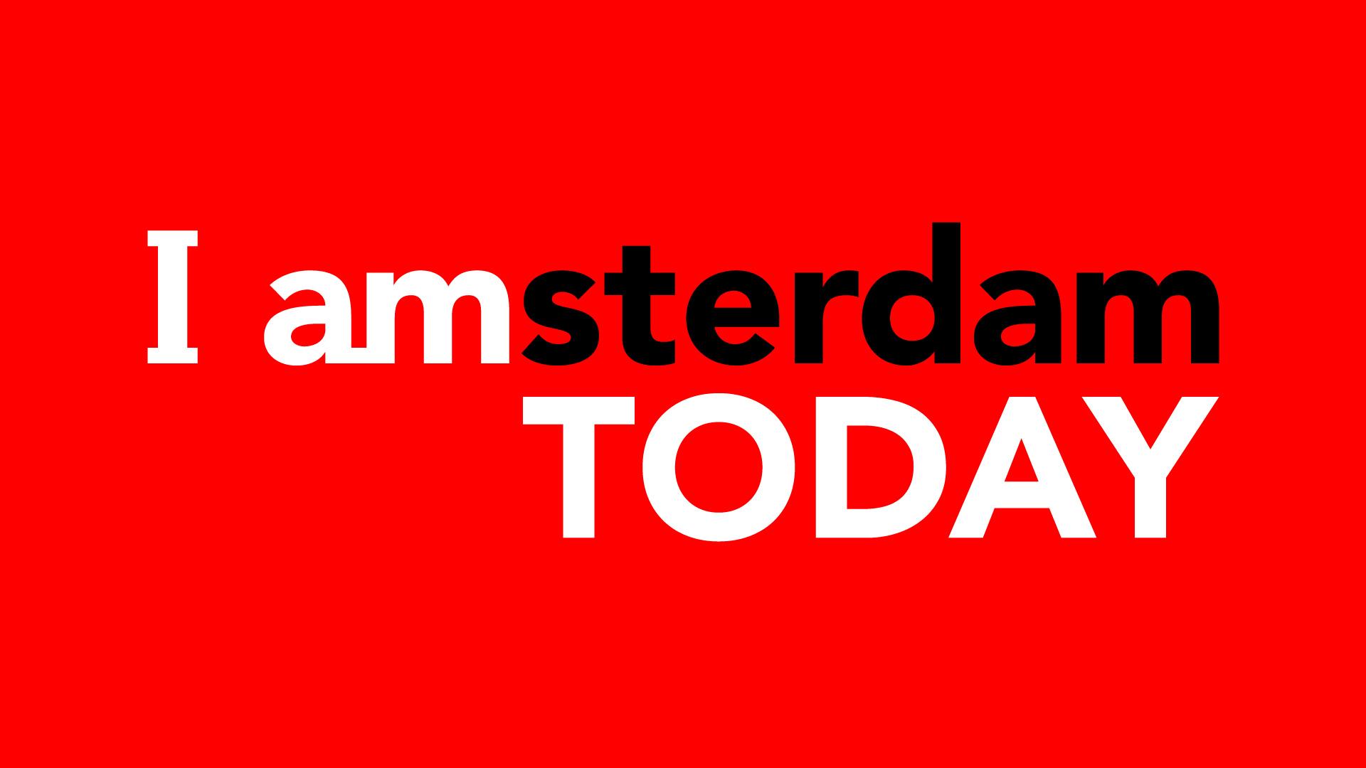 I amsterdam TODAY  - Audiovisuele huisstijl voor 'I amsterdam TODAY', het dagelijkse journaal voor toeristen in Amsterdam.
