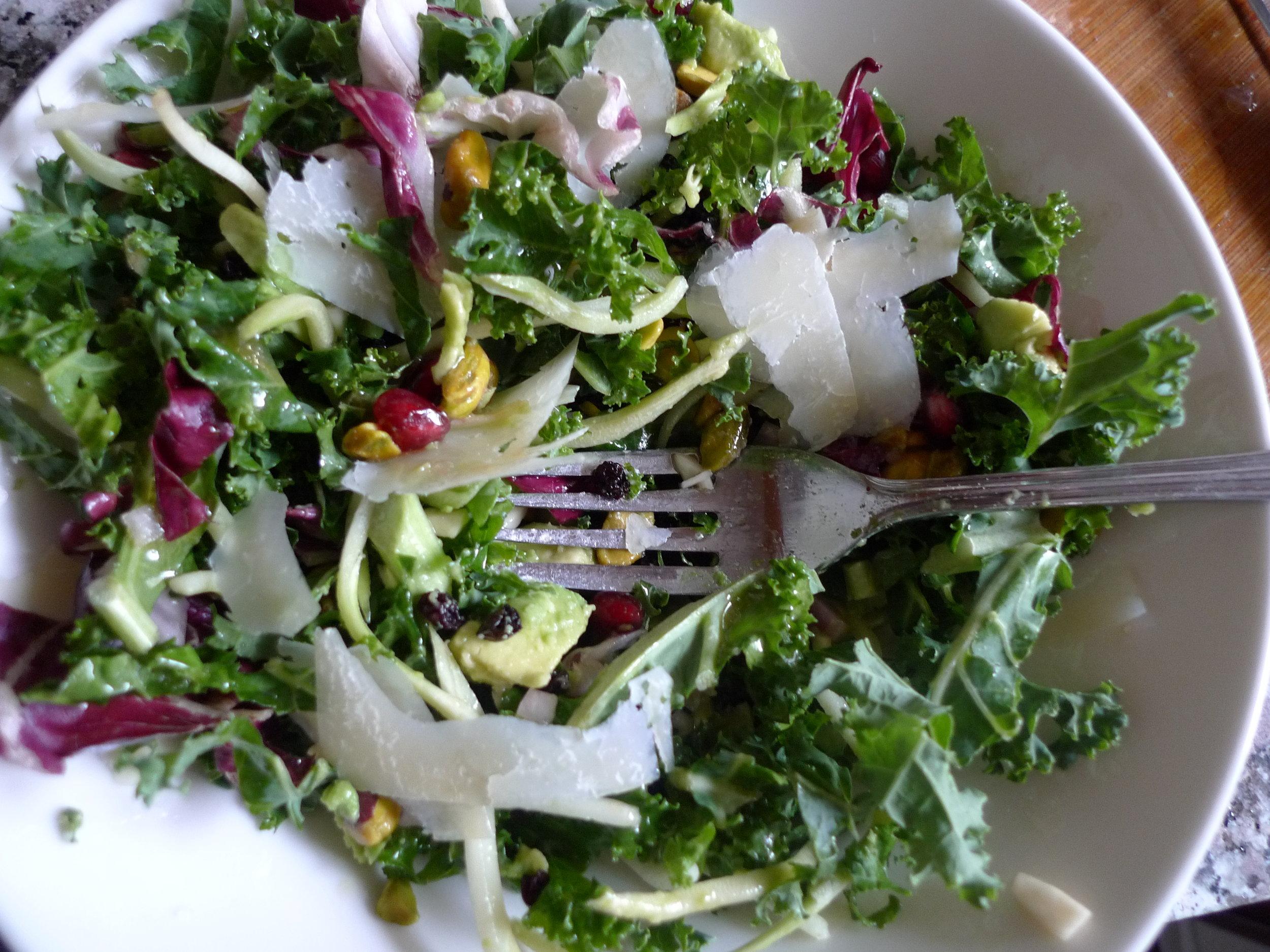 Antioxidant Salad - GirlLovesFood-MarisaOlsen